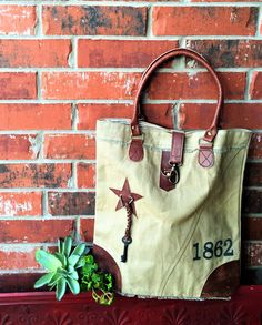 '1862' Recycled CanvasTote Bag