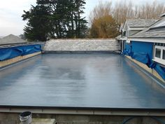 We install and repair fibreglass roofing in Cornwall. Fibreglass (also known as Glass reinforced plastic) is a lightweight, flexible and strong roofing solution.