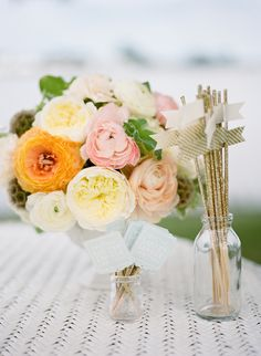 Petal and Print Florist | Southern Wedding Flowers and Inspiration. Photo: http://nataliefranke.com