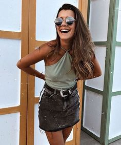 T-shirt Outfit Summer Casual 56 New Ideas Casual Summer Outfits, Spring Outfits, Trendy Outfits, Outfit Summer, Looks Style, Looks Cool, My Style, Mode Outfits, Fashion Outfits