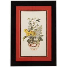 Bassett Mirror Old World Floral Medley I 9900-371AEC