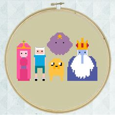 Adventure Time Cross Stitch Chart (PDF Pattern) Easy to Stitch - Instant Download