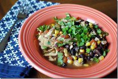 Slow Cooker Santa Fe Chicken Recipe