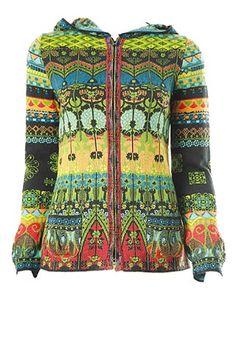 Farb-und Stilberatung mit www.farben-reich.com - Ivko hoodie black and multi