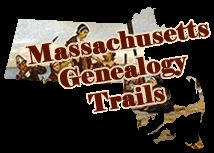 Free Massachusetts Genealogy Records for Massachusetts Family History Research @ genealogytrails.com