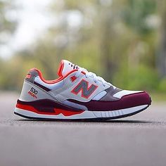 NEW-New-Balance-Men-039-s-Shoes-M530AAA-90-039-s-Running-530-White-Maroon-LIFESTYLE