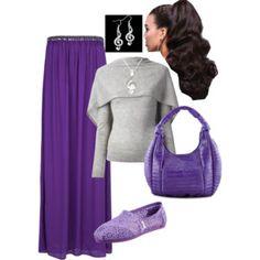 Purple music notes!