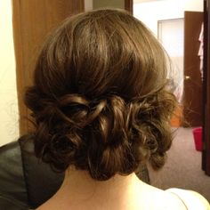 Nice updo I did for a prom