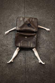 bag on man