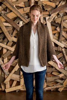 Ravelry: Cocoon Shrug pattern by Nancy Ricci