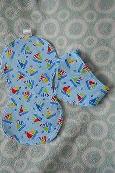 Burp cloth and bib set, Baby gift set, Baby burp cloth, baby bandana dribble bib, baby shower gift, blue sail boat fabric, by BobtailsBoutique on Etsy https://www.etsy.com/uk/listing/293788863/burp-cloth-and-bib-set-baby-gift-set