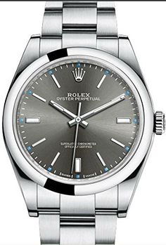 #perpetualcalendar #rolexwatchesformen Mens Steel Rolex Oyster Perpetual 39mm Rhodium Dial, Oyster Bracelet Check https://www.carrywatches.com