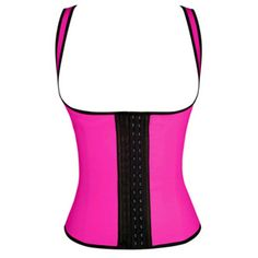 b4dca78220 Latex Waist Trainer Tummy Control Women Underbust Waist Cincher 3 Hooks  Slimming Body Shaper Underwear Vest Plus Size
