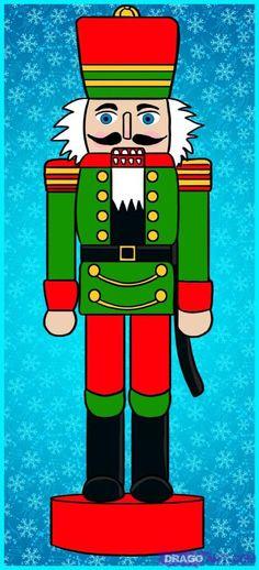 For Jaque how to draw a nutcracker Christmas Yard Art, Christmas Drawing, Christmas Paintings, Christmas Projects, Christmas Holidays, Christmas Decorations, Christmas Ornaments, Nutcracker Crafts, Nutcracker Christmas