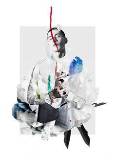Artistic Menswear-Inspired Collages : six lee ernesto artillo