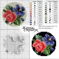 "Gallery.ru / pustelga - Альбом ""small маленькие схемы"" Mini Cross Stitch, Cross Stitch Rose, Cross Stitch Flowers, Cross Stitch Charts, Cross Stitch Designs, Cross Stitch Patterns, Cross Stitching, Cross Stitch Embroidery, Embroidery Patterns"