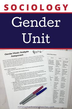 Engage your students with one of my personal favorite units on gender and stereotypes! These very important sociology concepts will lead your students to think critically about the people and the world around them through hands-on activities. My students especially love learning about this material about gender! I love teaching this unit and I know that you will, as well!