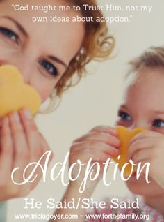 Would you love to adopt? Do you and your spouse struggle to see eye to eye on adoption? Are you in the process of waiting for God to open the door? THIS is a MUST read!