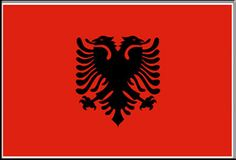 Albania Location: Europe Status: UN Member Country Capital City: Tirana Main Cities: Durrës, Elbasan, Shkodra, Vlorë Population: Area: Currency: 1 lek = 100 qindars Languages: Albanian Religions: Sunni Muslim, Christian Albania Country, European Flags, European Countries, Flag Store, Store 3, International Flags, Double Headed Eagle, Flags Of The World, Top Destinations