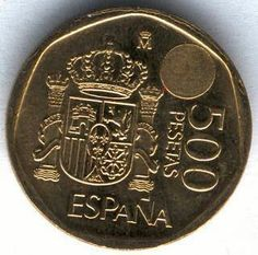Tener una de estas monedas era como ser rico de niño.. ¡La moneda gorda!