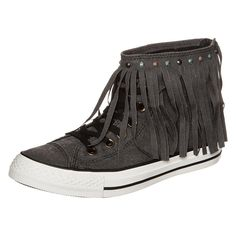 CONVERSE Chuck Taylor All Star Fringe High Sneaker Damen