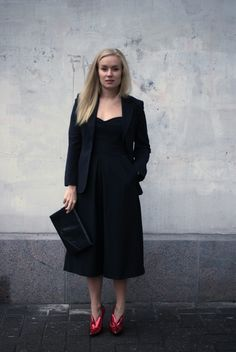 All black / Minna Parikka Everyday Outfits, My Outfit, All Black, Lily, Chic, Style, Fashion, All Black Everything, Shabby Chic