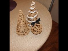 DIY Paper wicker Christmas tree (ENG Subtitles) - Speed up #44 - YouTube