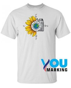 Vintage T-Shirt,Traditional Flower Motifs Fashion Personality Customization
