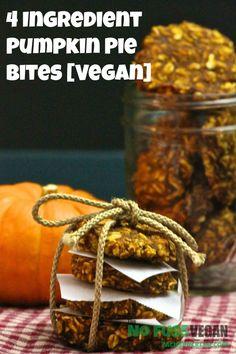 4 Ingredient Pumpkin Pie Bites