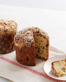 Panettone, Recipe from Martha Bakes,