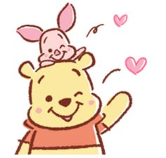 Winnie Pooh discovered by GLen =^● 。●^= on We Heart It - Disney winnie the pooh - Whinnie The Pooh Drawings, Winnie The Pooh Gif, Winne The Pooh, Cute Disney Drawings, Cute Drawings, Disney Kunst, Disney Art, Gif Mignon, Pinturas Disney