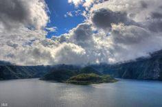 El lago Cuicocha