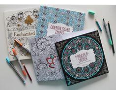 Malbücher für Erwachsene – heartcover.eu // Julias Bücherblog
