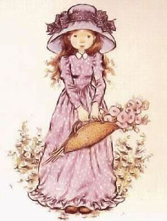 Who remembers Holly hobby! Sarah Key, Sarah Kay Imagenes, Holly Hobbie, Vintage Drawing, Australian Artists, Sweet Memories, Vintage Cards, Cute Drawings, Clipart
