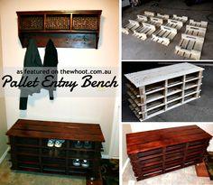 Pallet Entry Bench