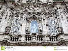 Facade Of Igreja Do Carmo In Porto, Portugal - Download From Over 55 Million High Quality Stock Photos, Images, Vectors. Sign up for FREE today. Image: 17679915