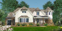 Distinctive Style - 15893GE | Architectural Designs - House Plans