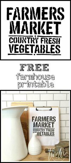 Its time for another Free Printable Friday! I am starting a new series, Farmhouse Printable Friday! Come back over the next few weeks to see… (Diy Cutting Board Transfer)