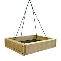 Small Hanging Platform Bird Feeder