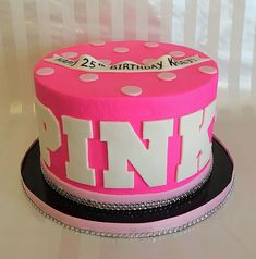 50 Ideas for birthday cake fondant girl pink party ideas 14th Birthday Cakes, Birthday Sweets, Sleepover Birthday Parties, Pink Birthday Cakes, Birthday Cakes For Teens, Sweet 16 Birthday, Birthday Cupcakes, Birthday Bash, Unique Birthday Cakes