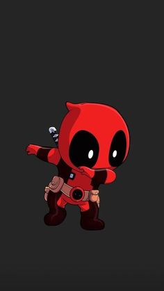 New Cartoon Wallpaper Deadpool Kawaii, Deadpool X Spiderman, Cute Deadpool, Deadpool Tattoo, Lady Deadpool, Deadpool Movie, Deadpool Symbol, Deadpool Wallpaper, Avengers Wallpaper
