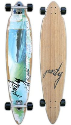 Gravity Bamboo Pintail Complete Longboard Skateboard by Gravity. $177.95
