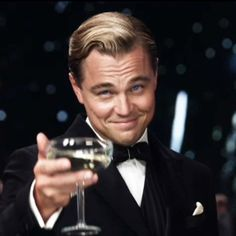 Leo as The Great Jay Gatsby. They couldn't have picked a better man for the job <3