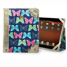 Mixed Butterfly iPad Case   Uptown Retro Girl 104 S. Michigan St. & 103 Laporte St. Plymouth, IN (574)935-0315 www.uptownretrogirl.biz #fashion #boutique #plymouthindiana #uptownretrogirl #urg