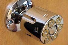 Great door knob for the man cave!
