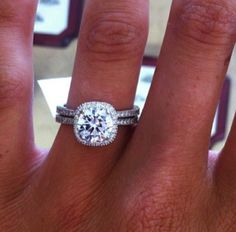 Cushion Cut Tiffany Engagement Ring