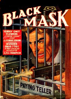 BLACK MASK MAGAZINE cover art by peterpulp.deviantart.com on @deviantART
