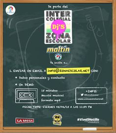 Cresta Metálica Producciones » La música electrónica suena en el salón de clases Intercolegial de Dj's de Zona Escolar
