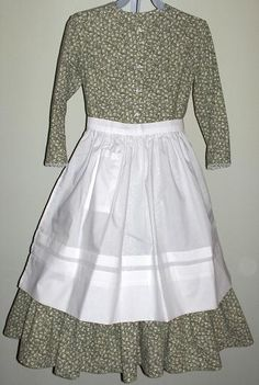 Girls Pioneer Dress with Bonnet and Pinafore | Girls, Pictures of ...