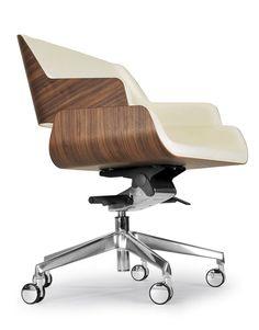 Pat's conference chair ROSE OFFICE by Riccardo Rivoli Design design Riccardo Rivoli